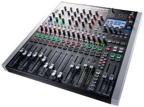Soundcraft Si Performer 1 Digital Live Sound Mixer Console with 16 Mic and 8 Line Inputs and DMX SI-PERFORMER-1