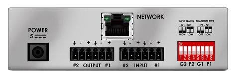 Stewart Audio NetAV I/O 2x2 2x2 Network Enabled On/Off Ramp Device with Dante NET-AV-I/O-2X2-DANTE