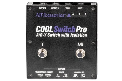 ART COOLSwitchPro Isolated A/B-Y Switch COOLSWITCH-PRO