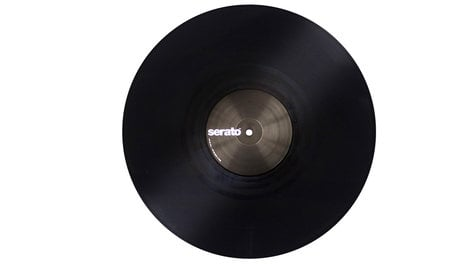 "Serato SCV-PS-BLK-OJ Pair of Performance Series 12"" Control Vinyl in Black SCV-PS-BLK-OJ"