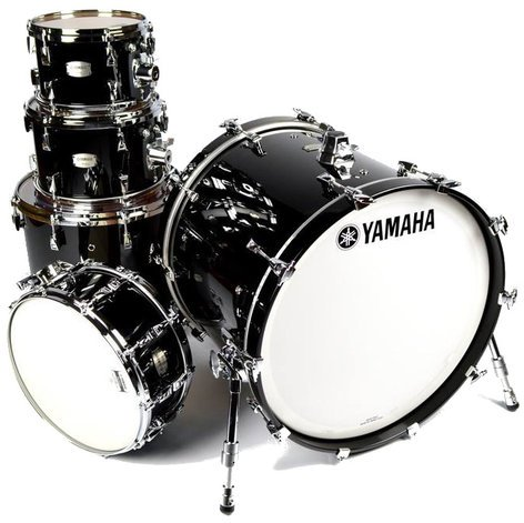"Yamaha AM2JF50J 5-Piece Absolute Hybrid Maple Shell Pack: 10"", 12"", 16"", 22"" with 6x14"" Snare Drum AM2JF50J"