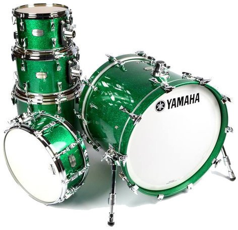 "Yamaha AM8F50J 5-Piece Absolute Hybrid Maple Shell Pack: 10"", 12"", 14"", 18"" with 6x14"" Snare Drum AM8F50J"