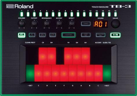 Roland TB-3 AIRA Touch Bassline Bass Synthesizer AIRA-TB3-BASS