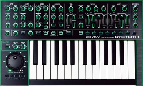 Roland System 1 25-Key PLUG-Out Synthesizer AIRA-SYSTEM-1-KEY