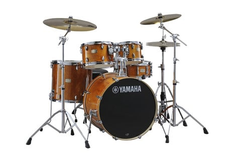 Yamaha SBP2F56W 5-Piece Stage Custom Birch Shell Pack with Hardware SBP2F56W