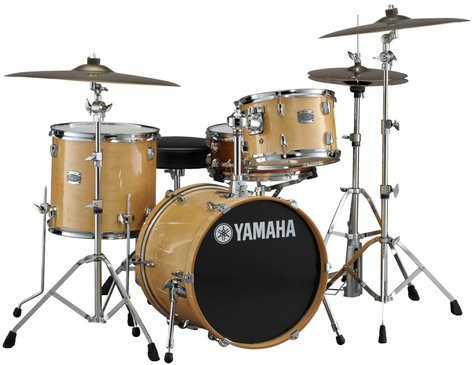 """Yamaha SBP8F30 3-Piece Stage Custom Birch Shell Pack: 12"""", 14"""", 18"""" without Snare Drum SBP8F30"""