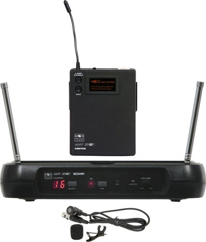 Galaxy Audio ECMR/52LV  ANY SPOT Wireless Lavalier Microphone System ECMR/52LV