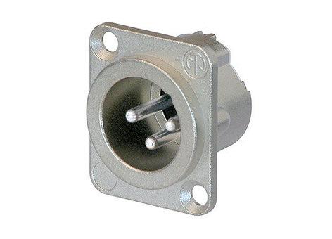 Neutrik NC3MD-LX  DLX Series 3-Pole Male Panel Connector NC3MD-LX