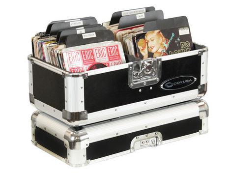 "Odyssey K45120BLK  120 7"" EP Case in Black K45120BLK"