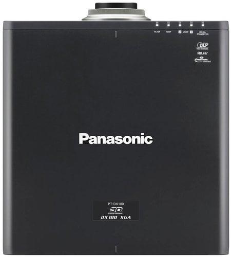 Panasonic PT-DX100ULK 10,000 Lumens 1DLP XGA Projector without Lens PTDX100ULK