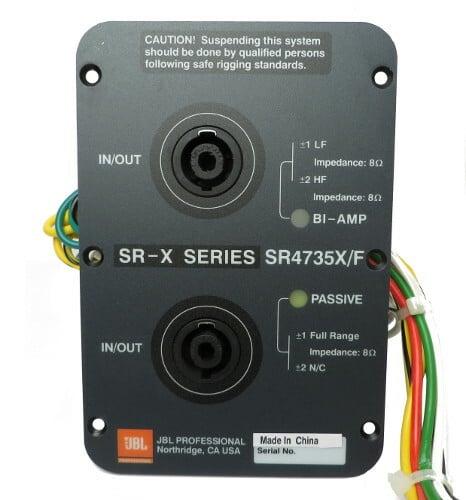 JBL 129-30015-01  Network Assembly For SR4735X 129-30015-01