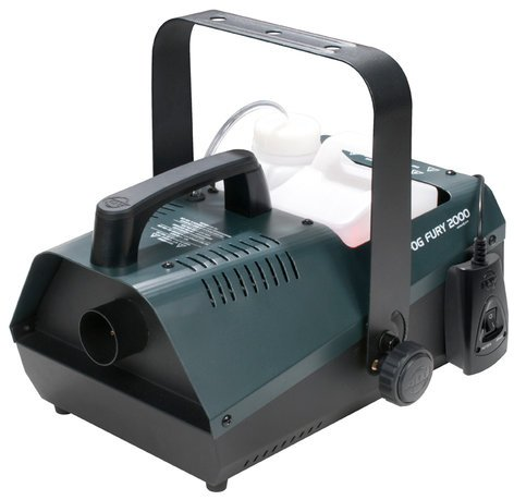 ADJ Fog Fury 2000 1100W Portable High Output Fog Machine FOG-FURY-2000