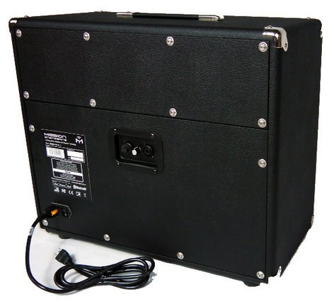mission engineering gemini 1 gemini 1 1x12 110w full range flat response powered electric. Black Bedroom Furniture Sets. Home Design Ideas