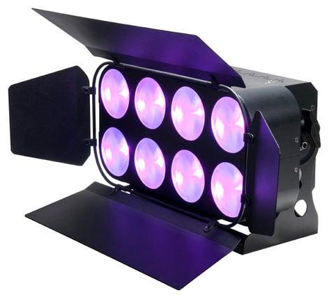 ADJ Dotz Panel 2.4 2x4 Chip-On-Board (COB) Tri LED Wash / Blinder Fixture DOTZ-PANEL-2.4