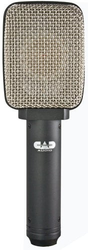 CAD Audio CADLive D80 Large Diaphragm Moving Coil Supercardioid Dynamic Microphone D80-CAD