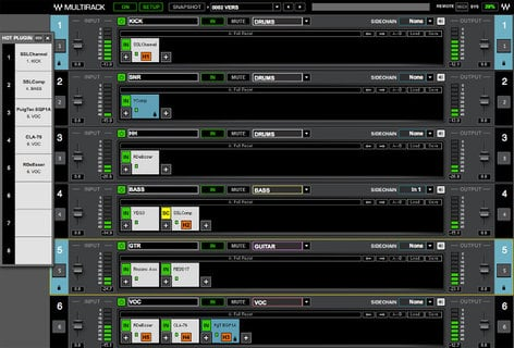 Waves MultiRack Software Host for Live Sound Applications MRSG
