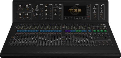 Midas M32 40 Channel Live / Studio Digital Mixer Console with 32 Midas Microphone Preamplifiers M32-IP