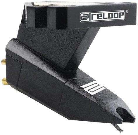 Reloop OM Black Integrated Headshell Cartridge  OM-BLACK