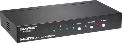 TV One 1T-SX-634  4x1 HDMI v1.3 Routing Switcher 1T-SX-634