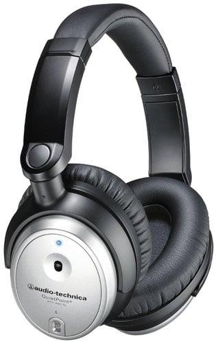 Audio-Technica ATH-ANC7b-SViS QuietPoint Active Noise Cancelling Headphones ATH-ANC7B-SVIS