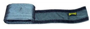 "Safcord SAFCORD-304-BK  4"" Crossover Velcro Cord Cover for Commercial and Berber Carpet SAFCORD-304-BK"