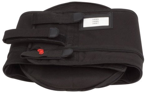 "Gibraltar GFBT10 10"" Tom Flatter Bag with Zippered Height Adjustment GFBT10"