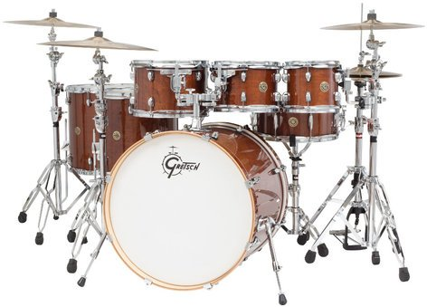 """Gretsch Drums CM1-E826P Catalina Maple 7 Piece Shell Pack with 8"""", 10"""", 12"""", 14"""", 16"""" Toms, 18""""x22"""" Bass Drum, 6""""x14"""" Snare CM1-E826P"""