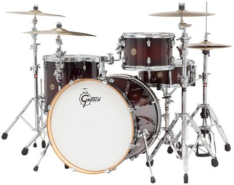 """Gretsch CM1-E824S Catalina Maple 4 Piece Shell Pack with 12"""", 16"""" Toms, 18""""x22"""" Bass Drum, 6""""x14"""" Snare Drum CM1-E824S"""