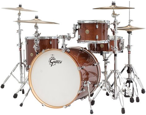 "Gretsch Drums CM1-E824S Catalina Maple 4 Piece Shell Pack with 12"", 16"" Toms, 18""x22"" Bass Drum, 6""x14"" Snare Drum CM1-E824S"