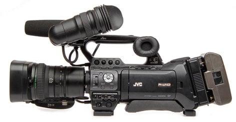 """JVC GY-HM850U 1/3"""" ProHD Shoulder Camcorder with 20x Fujinon Lens GYHM850U"""