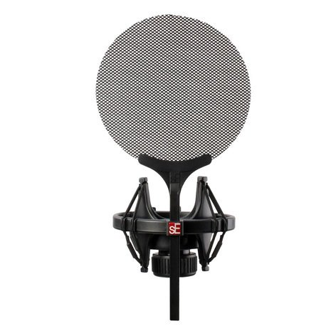 SE Electronics Isolation Pack Shockmount with Pop Screen ISOLATION-PACK