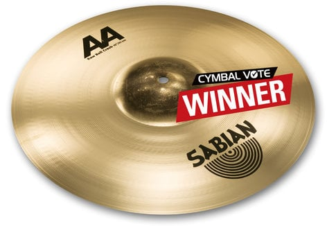 "Sabian 2160772B 16"" AA Raw Bell Crash in Brillant Finish 2160772B"