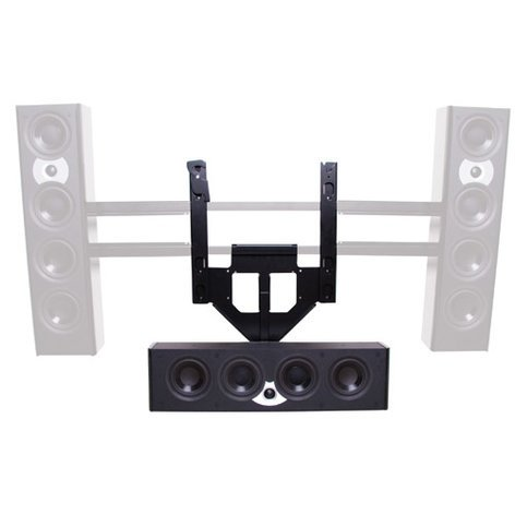 Chief Manufacturing PACCC2  Center Channel Speaker Adapter Mount for Screens PACCC2