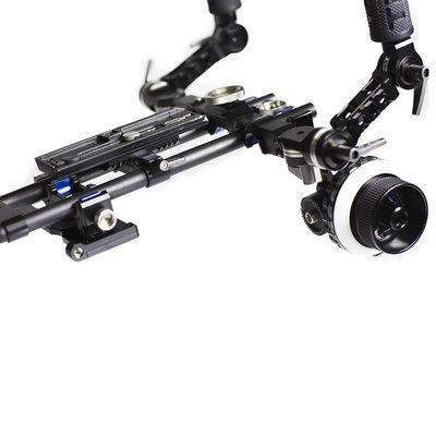 Tilta TT-03-TL  Tilta Offset DSLR Shoulder Rig with Follow Focus and Counterweights TT-03-TL