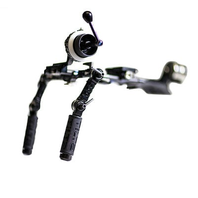 Tilta TT-03-TL  Tilta Offset DSLR Shoulder Rig with Follow Focus and Counterweights TT-03-TL