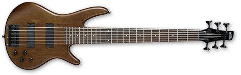 Ibanez GSR206BWNF Walnut Flat Gio Series 6-String Electric Bass GSR206BWNF