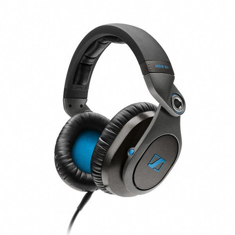 Sennheiser HD8 DJ Over-Ear DJ Headphones HD8DJ