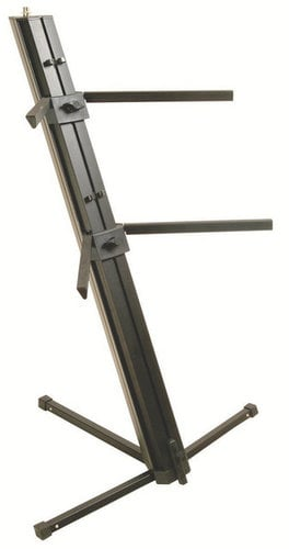 On-Stage Stands KS9102  Quantam Core 2-Tier Column Keyboard Stand KS9102