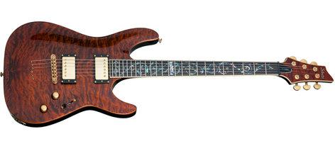 Schecter Guitars C1-CLASSIC C1 Classic Antique Amber Electric Guitar C1-CLASSIC