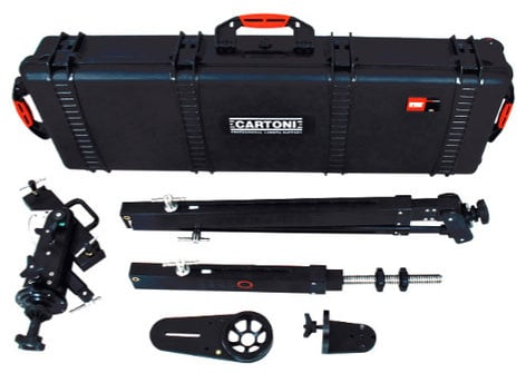Cartoni K102 JIBO Portable 3 Section Jib Arm K102