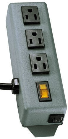 Tripp Lite 3SP  3 Outlet Power Strip with 6 ft Cord 3SP