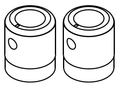 Sound Devices XL-K7  Knob Replacement Kit for 702, 702T, 722, 744T Gain Pot Knobs XL-K7