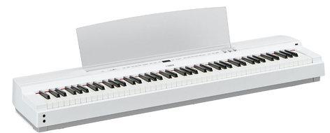 Yamaha P255 Digital Piano in White P255WH
