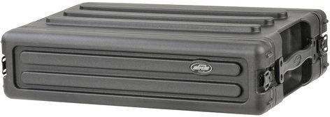 SKB Cases 1SKB-R2S 2RU Roto-Molded Shallow Rack Case 1SKB-R2S