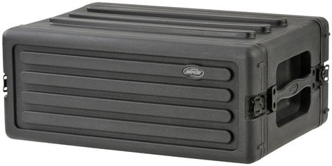 SKB 1SKB-R4S 4RU Roto-Molded Shallow Rack Case 1SKB-R4S