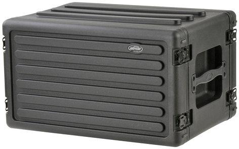 SKB Cases 1SKB-R6S 6RU Roto-Molded Shallow Rack Case 1SKB-R6S