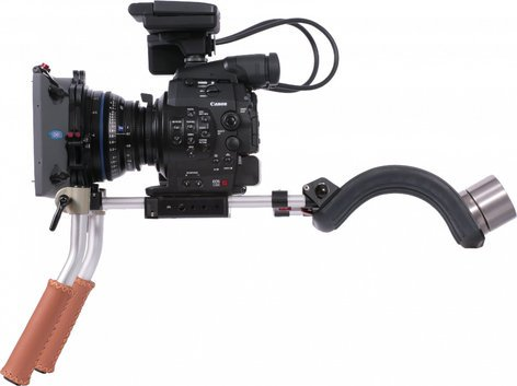 Vocas 0255-3900 Handheld Kit with 15mm Rails for Canon EOS C100 , C300 , C500 0255-3900