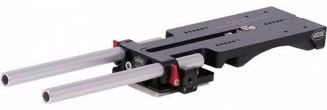 Vocas 0350-2001 USBP-15D 15mm Universal Shoulder Mount Base Plate with Flat Plate 0350-2001