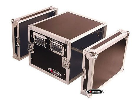 Odyssey FZAR8  Case, 8 Space Amp Rack  FZAR8