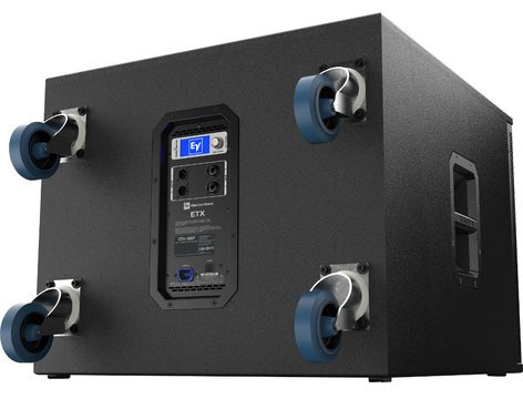 """Electro-Voice ETX-18SP 18"""" 1800W Powered Subwoofer with Onboard DSP and Removable Casters ETX-18SP"""